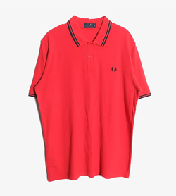 FRED PERRY - 프레드페리 코튼 PK티셔츠   Made In England  Man L / Color - Red