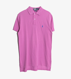 POLO BY RALPH LAUREN - 폴로 랄프로렌 코튼 PK 롱 티셔츠   Women S / Color - Purple