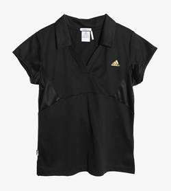 ADIDAS - 아디다스 폴리 PK티셔츠   Women M / Color - Black