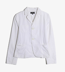 APC - 아페쎄 코튼 자켓   Made In Poland  Man M / Color - White