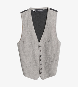 DSQUARED2 - 디스퀘어드 울 레이온 니팅 베스트   Made In Italy  Man M / Color - Gray