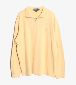 POLO BY RALPH LAUREN - 폴로 랄프로렌 코튼 하프 집업   Man XL / Color - Yellow