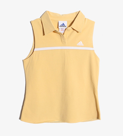 ADIDAS - 아디다스 코튼 PK티셔츠   Women M / Color - Yellow