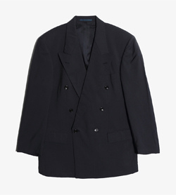HUGO BOSS - 휴고 보스 로로피아나 울 더블 자켓   Made In Italy  Man L / Color - Navy