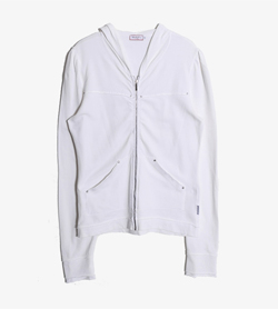 MAX&CO - 막스앤코 코튼 후드집업   Made In Greece  Women M / Color - White