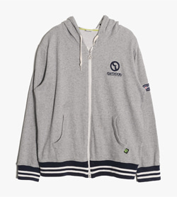 OUTDOOR PRODUCTS - 아웃도어 프로덕트 코튼 후드집업  Unisex M / Color - Gray