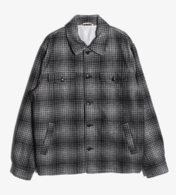 CLOTHING -  울 폴리 체크 자켓   Man 3L / Color - Check