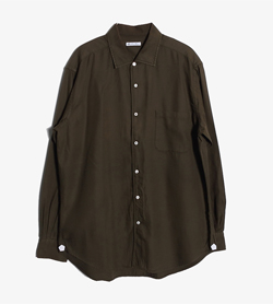 LORO PIANA - 로로 피아나 코튼 셔츠   Made In Italy  Man L / Color - Khaki
