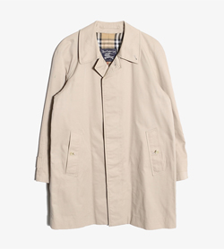BURBERRY - 버버리 코튼 폴리 발마칸 코트   Made In England  Man L / Color - Beige