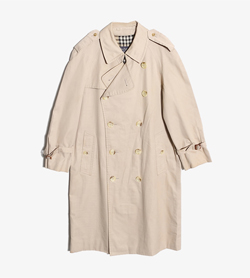 BURBERRY - 버버리 코튼 폴리 트렌치 코트   Made In England  Man L / Color - Beige