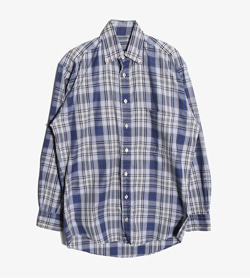 BURBERRY - 버버리 코튼 체크 셔츠   Made In Usa  Man L / Color - Check