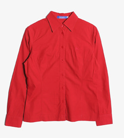 BURBERRY BLUE LABEL - 버버리 블루라벨 코튼 셔츠   Women L / Color - Red