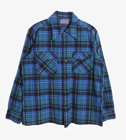 PENDLETON - 펜들턴 울 체크 셔츠   Made In Usa  Man M / Color - Check